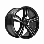 "Lenso ES6 BLACK & POLISHED 19""(951940BLNKES6BKF405100)"