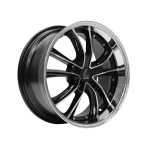 "Lenso ES7 GLOSS BLACK/ POLISHED FACE&LIP 18""(8518BLANK35ES7355100)"