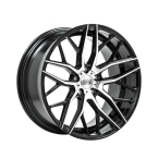"1AV ZX11 BLACK & POLISHED 20""(8520BLNK25ZX11BP255108)"