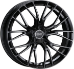 "BE by Breyton Force 4 Matt Black 17""(Force 2)"