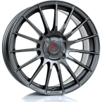"2FORGE ZF1 GLOSS GUNMETAL 17""(757C10GM2FZF1)"