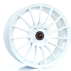 "2FORGE ZF1 WHITE 17""(757C10WH2FZF1-2FORGE-25-4X98-7.5X17)"