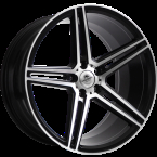 "Forzza Bosan Black Matt Face Machined Black Matt Face Machined 19""(YU3227000019512)"