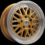 "Forzza Spot Gold-Lip Machined Gold/Lip Machined 17""(YU9127000617520)"