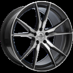 "Forzza Ultra Grey Face Machined Grey Face Machined 19""(YU5619000019512)"