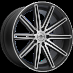 "Forzza Vertin Grey Matt Face Machined Grey Matt Face Machined 18""(YU7103000018512)"
