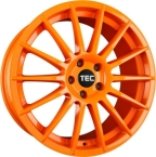 "TEC-Speedwheels AS2 Orange 17""(TEC-ASA 199)"