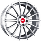"TEC-Speedwheels AS2 Sølv 17""(TEC-ASA 198)"