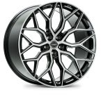 "Vossen HF2 Brushed Gloss Black 19""(103 HF2-9M71)"