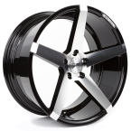 "Z-performance ZP6.1 Deep Concave Gloss Black/Polished 19""(ZP618519511245666GBFP)"