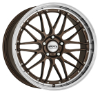 "Dotz Revvo Bronze/polished lip 18""(OREG0ZL34)"
