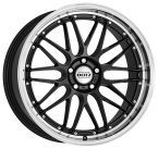 "Dotz Revvo dark Gunmetal/polished lip 18""(OREG8FL48)"