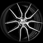 "Dotz Misano dark Gunmetal/polished 18""(OMIGHFP45)"