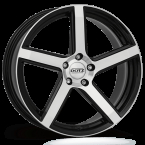 "Dotz CP5 dark Black/polished 19""(OCP9L8BP45)"