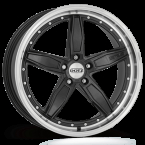 "Dotz SP5 dark Gunmetal/polished lip 19""(OSP9L8FL25)"