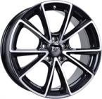 "Mam A5 Black Front Pol. BLACK FRONT POLISHED 18""(EW269052)"