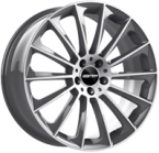 "GMP DEDICATED Stellar Anthracite Polished ANTHRACITE POLISHED 17""(EW392100)"