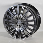 "ELITE Wheels Turbine antrasit/poleret 19""(EC14574)"