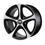 "CMS C12 Diamond Matt Black 16""(GTALU857-1178)"