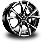 "MSW Cross Over BLACK FULL POLISHED 16""(W1923950056)"