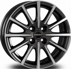 "Borbet BL4 Anthracite Polished MISTRAL ANTHRACITE POLISHED GLOSSY 15""(496449)"