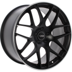 "EVOLUTION S196 Matt black with polished lip 21""(101029990)"