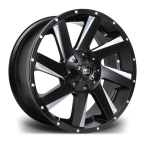 "RIVIERA XTREME RX100 BLACK POLISHED 20""(RX1002096X13915110BP-v1)"