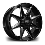 "RIVIERA XTREME RX200 BLACK POLISHED 18""(RX2001896X13915110BP-v1)"