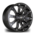 "RIVIERA XTREME RX500 BLACK POLISHED 18""(RX5001896x114320661BP-v1)"