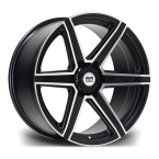 "RIVIERA XTREME RX800 BLACK POLISHED FACE 20""(RX80020956x13925110BPF-v1)"