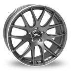 "ZITO 935 Matt Grey Polished Lip 20""(850Q35MGMPLZIXLS)"