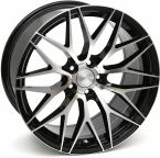 "ZITO ZF01 Gloss Black Face Polished 19""(959K45BPZIZF01)"