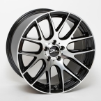 "ZITO 935 Gloss Black Face Polished 19""(859K45GBFPZIXLS)"