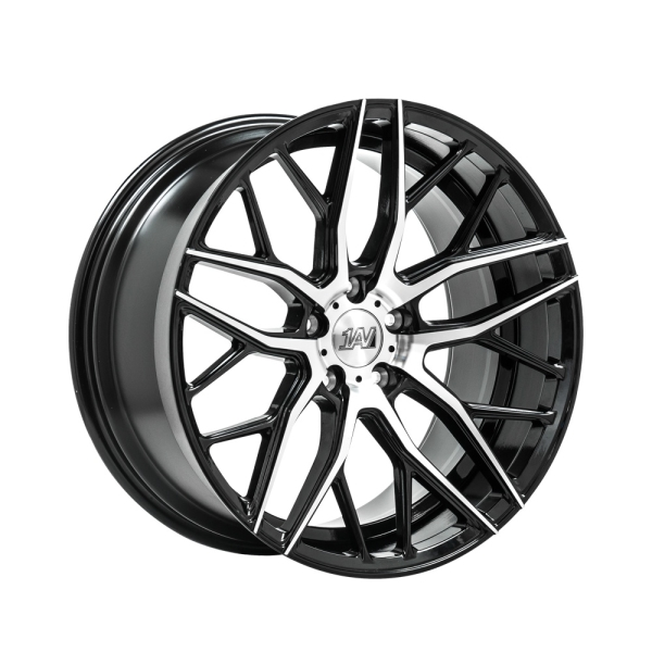 1AV ZX11 BLACK & POLISHED 20""