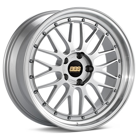 BBS LM Brilliant Sølv 17""