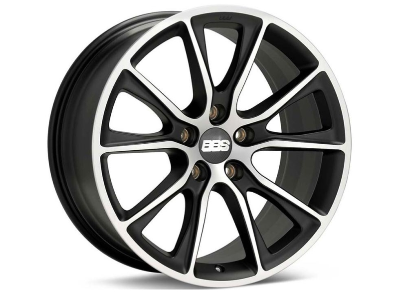 BBS SV Satin Sort/poleret 20""