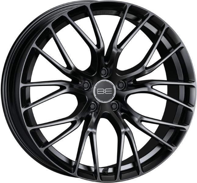 BE by Breyton Force 4 Matt Black 17""