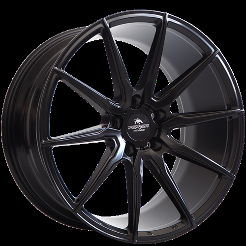 Forzza City Satin Black Satin Black 19""