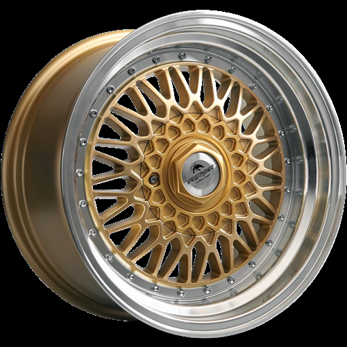 Forzza Malm Gold-Lip Machined Gold/Lip Machined 16""