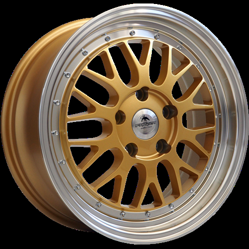 Forzza Spot Gold-Lip Machined Gold/Lip Machined 17""