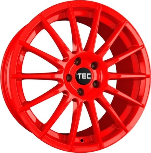 TEC-Speedwheels AS2 Rød 17""