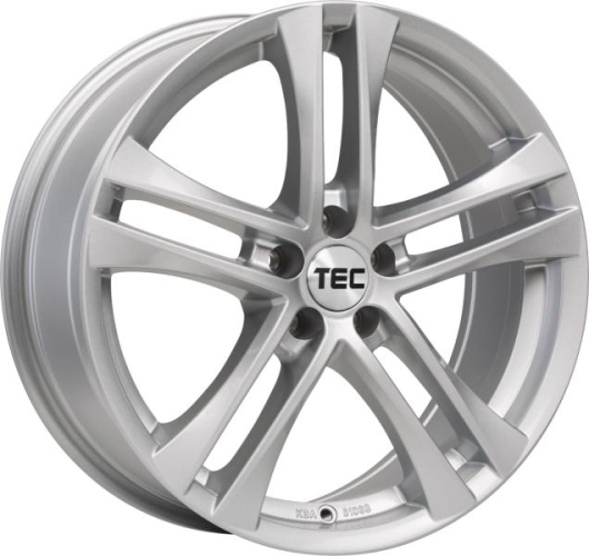 TEC-Speedwheels AS4 Sølv 16""