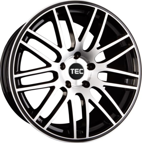 TEC-Speedwheels GT1 Sort/poleret 16""