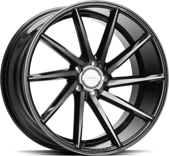 Vossen CVT - Ventre Tinted Gloss Black 19""