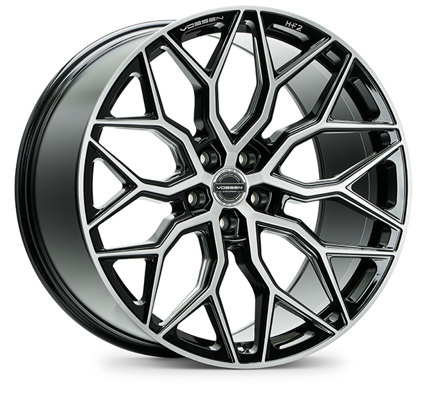 Vossen HF2 Brushed Gloss Black 19""