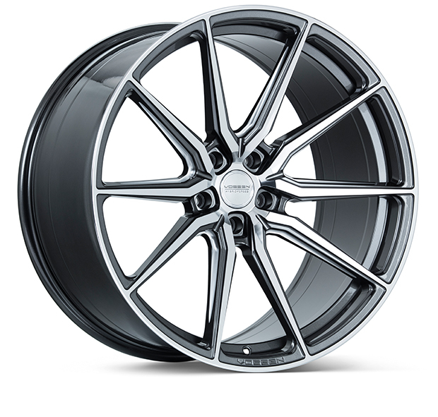 Vossen HF3 Gloss Graphite Polished 19""