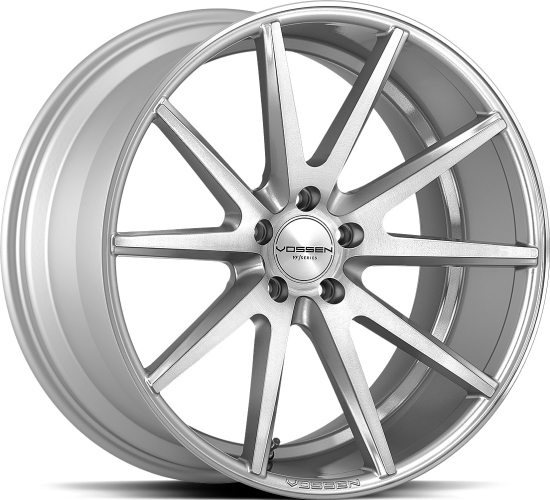Vossen VFS-1 Silver Brushed 19""