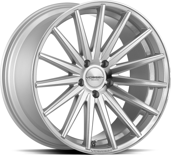 Vossen VFS-2 Silver Polished 19""
