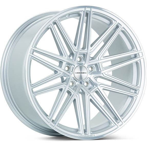 Vossen CV10 Silver Polished 19""