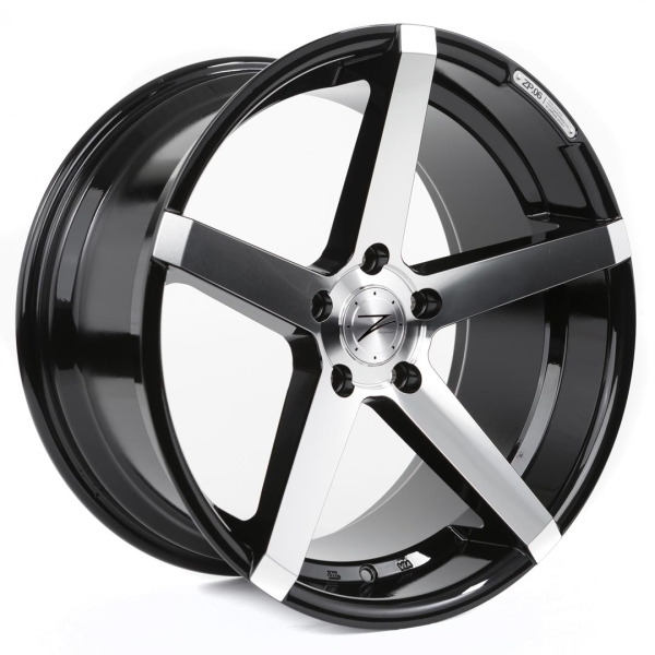 Z-performance ZP.06 Deep Concave Phantom Black/Polish 18""